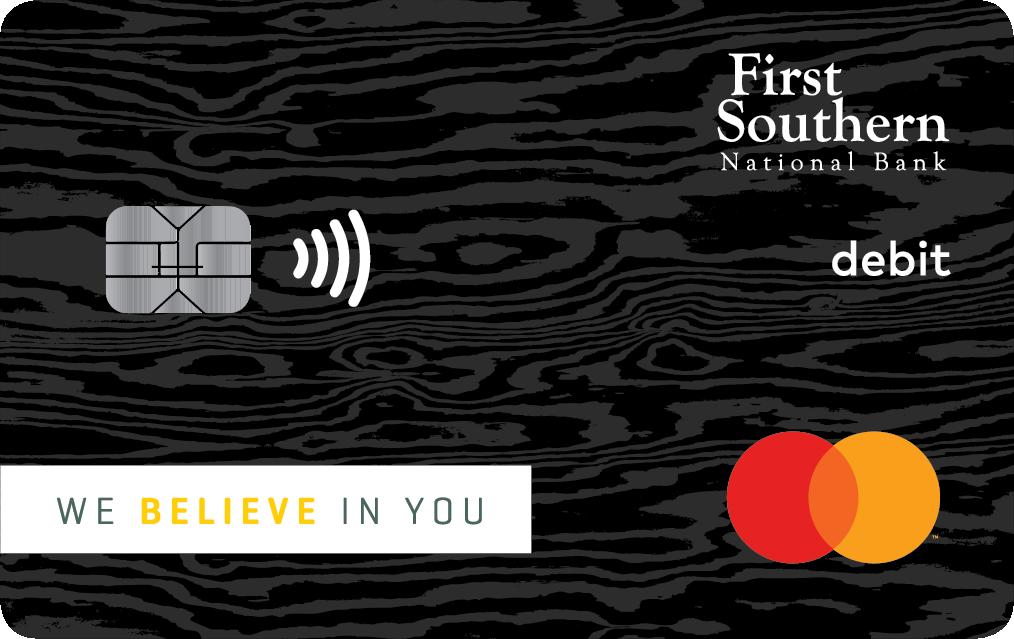 First Southern National Bank First Class Debit Mastercard®
